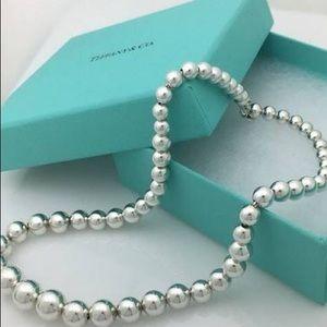 Tiffany's ball necklace
